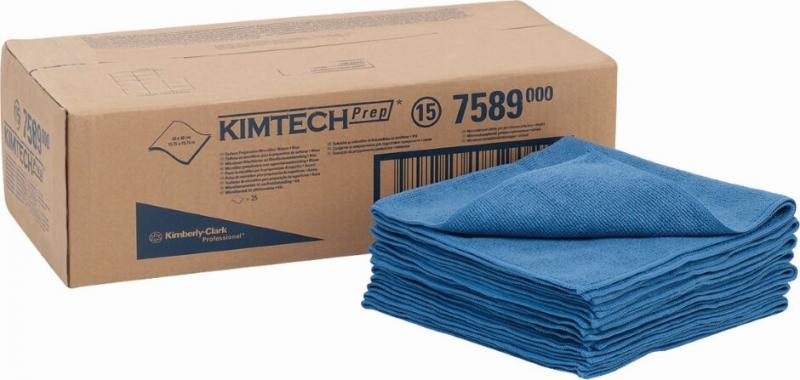 ผ้าไมโครไฟเบอร์ (Kimtech Prep* Surface Preparation Microfiber Cloths)