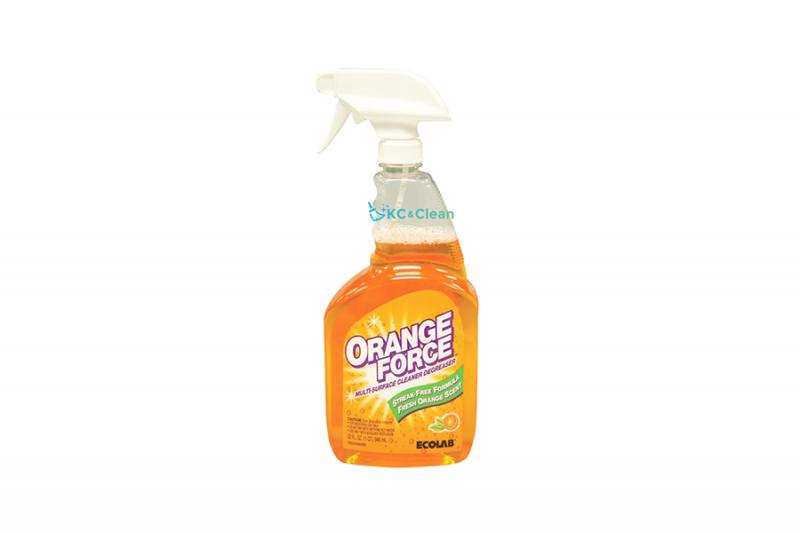ออร์เรนจ์ ฟอร์ซ มัลติ-เซอร์เฟส คลีนเนอร์ ดีกรีซเซอร์ (Orange Force Multi-Surface Cleaner Degreaser)