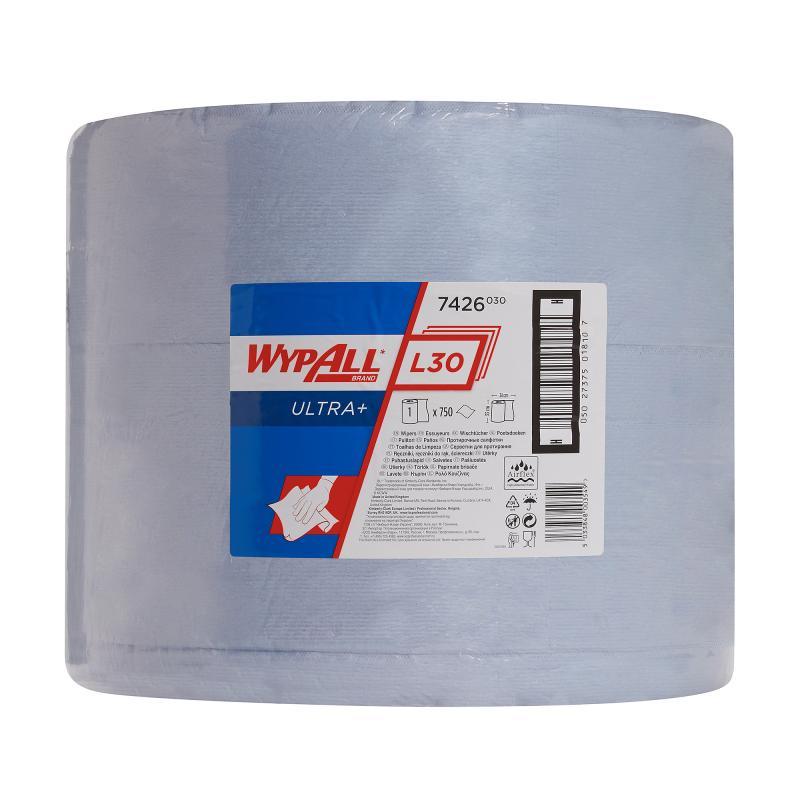 กระดาษเช็ดอุตสาหกรรม L30 Ultra+ (Wypall* L30 Ultra+ Wipes)
